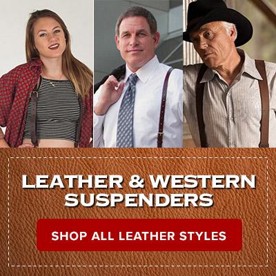 Shop Leathers Suspenders