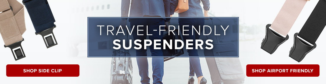 Shop Travel Friendly Suspenders